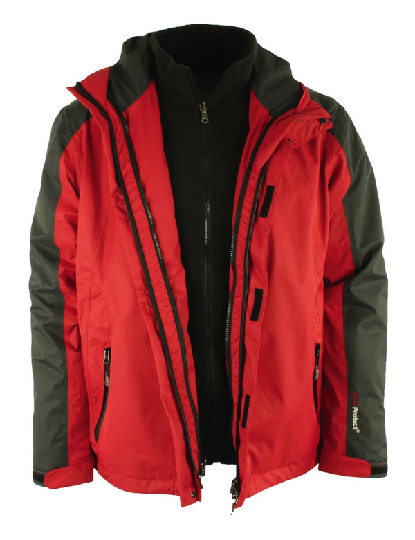 Campagnolo Doppeljacke 3in1 Herren Clima Protect System Gr. 56
