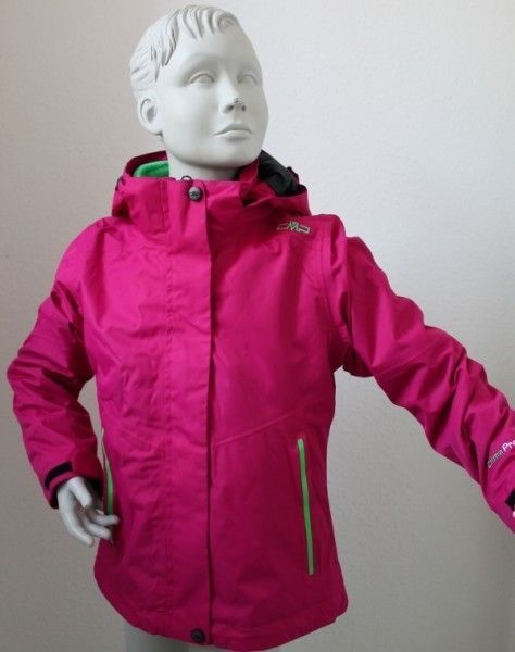 Campagnolo Girl Snap Hood Twill Jacket Winter