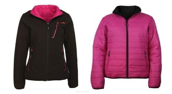 Campagnolo Damen Softshell Funktions Wende Jacke